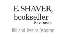 E. Shaver, bookseller, Savannah